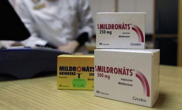 Милдронат побочные эффекты отзывы пациентов